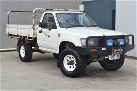 95 Toyota Hilux For Sale Unreserved 98 Toyota Landcruiser Gxl 95 Toyota Hilux 4wd