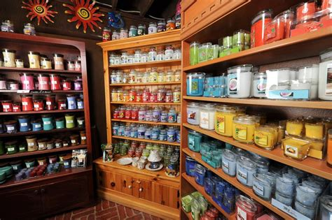 candele shop candle store displays colors search color