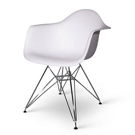 chair eames style chrome eiffel dining chair by ciel