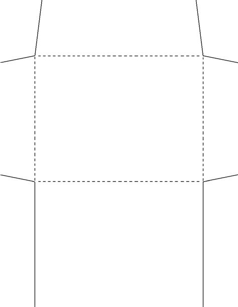 template for a2 envelope
