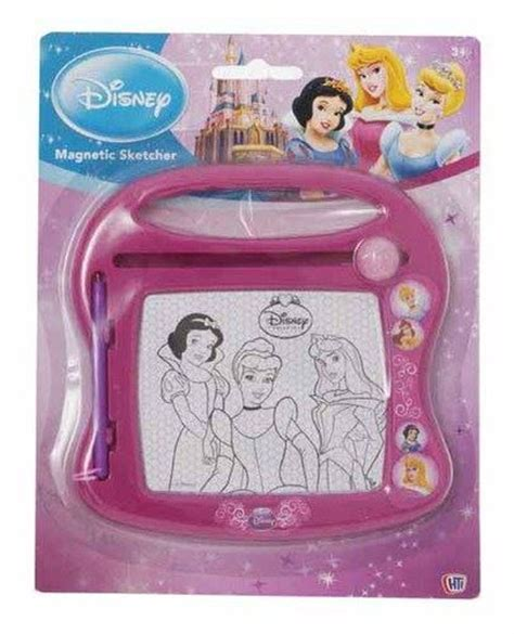 Drawing Board Magnetic Board Karakter Princess disney mini minnie mickey mouse princess magnetic sketcher pen drawing boards ebay