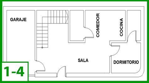 como hacer el plano de una casa autocad c 243 mo dibujar un plano de una casa en autocad