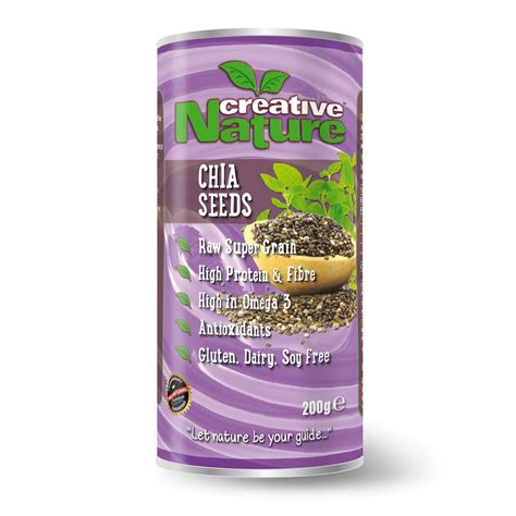 Nature S Energy Organic Chia Seeds 250g Chiaseeds Mexico 250 Gr Gram chia seeds creative nature