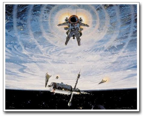 Outer Space Fishing Limited spaceflight from space