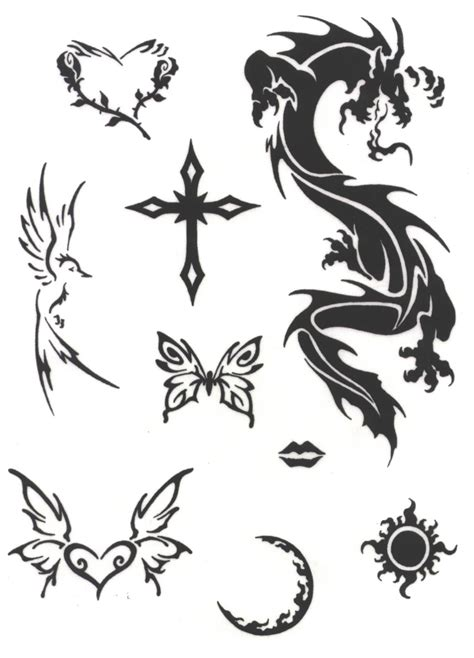cross butterfly tattoo designs tribal cross and butterfly tattoos designs