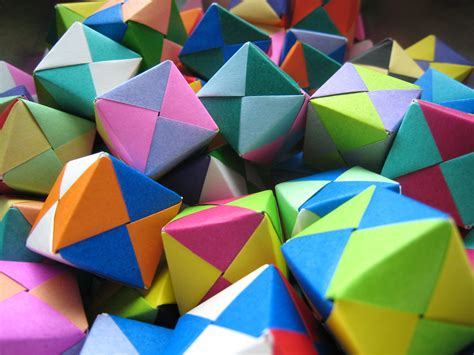 Origami Modular Pdf - sonobe origami image collections craft