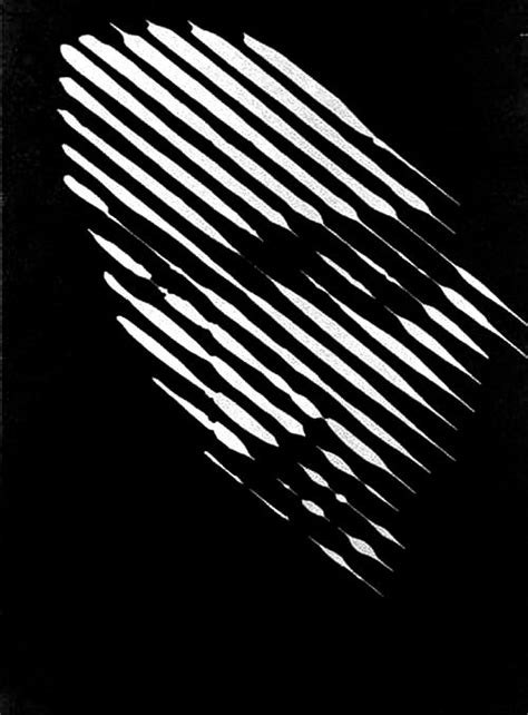 Pixy Line Shadow White effetto ottico black with white lines forming an intriguing could translate into