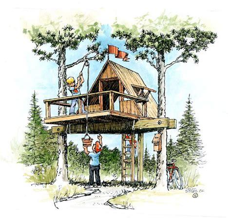 easy  build treehouse bubuild