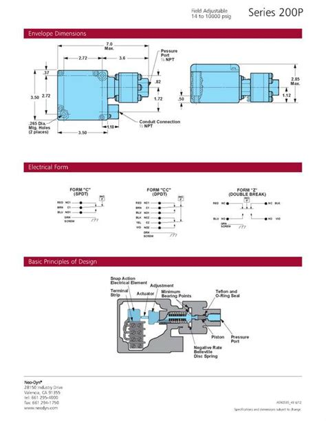 barksdale pressure switch wiring diagram 28 images