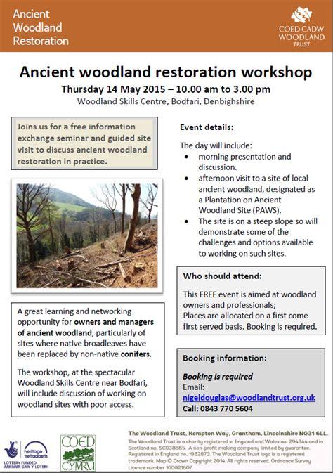 see 2 design policy workshop riga 14 05 14 14th may 2015 ancient woodland restoration workshop