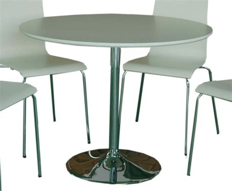 Circular Kitchen Table Shoreditch White Kitchen Table And Chairs