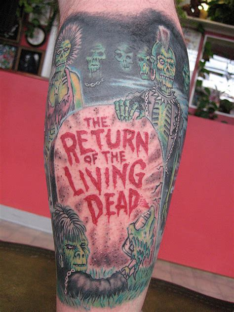 living dead tattoo return of the living dead return of the living