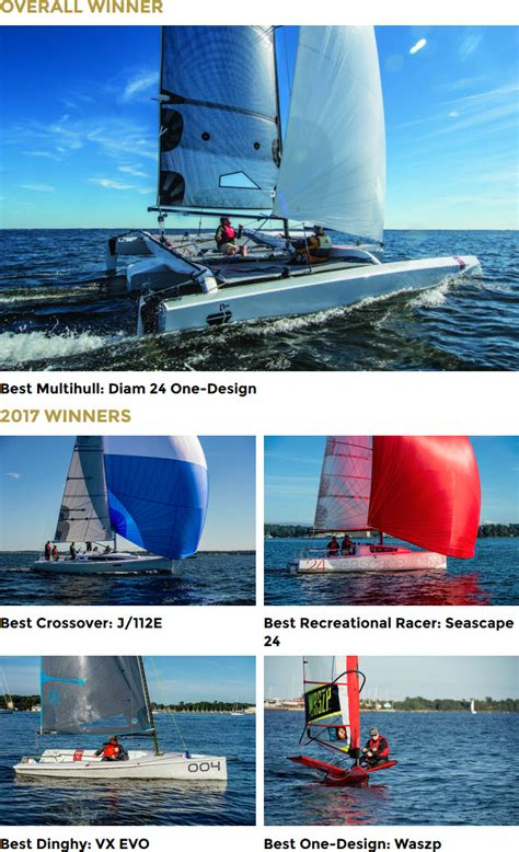 sailing boat of the year 2017 2017 boat of the year winners announced gt gt scuttlebutt