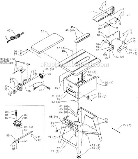 delta 36 474 parts list and diagram type 1