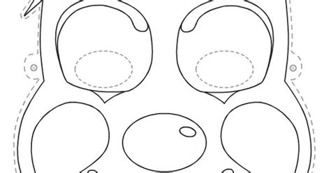 clown mask template clown mask printable printables see more