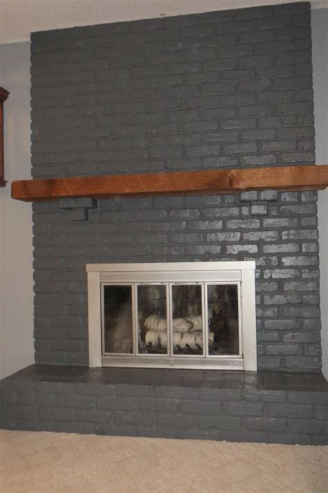Gray Brick Fireplace by The World S Catalog Of Ideas