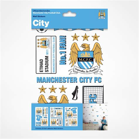 City Wall Stickers manchester city wall stickers supportersplace