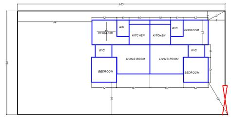 I Need An Architectural Plan Of 2nos Two Bedroom Flats Architectural Designs Three Bedroom Flat