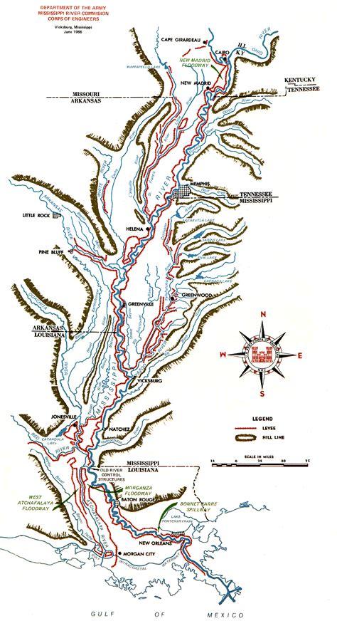 map of america mississippi river mississippi river floods