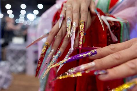 convention in vegas for nail art in march nailing down new trends at las vegas cosmetics expo