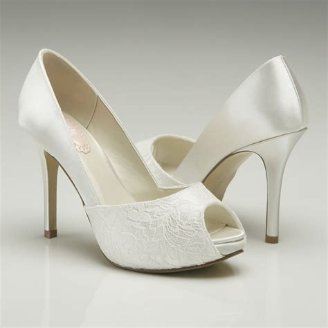 Fancy Wedding Shoes by Pink Paradox Fancy Wedding Shoes Bridal