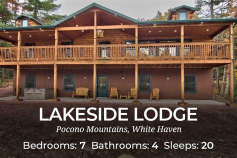 Pocono Cabin Rentals With Tubs by Large Pocono House Rentals Large Cabin Rentals Poconos