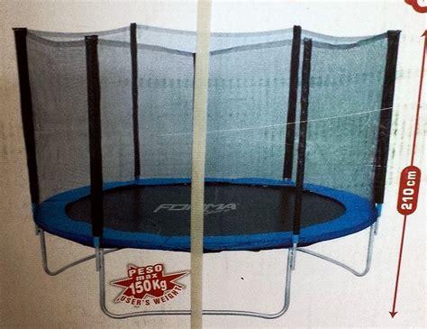 prezzo tappeto elastico prodotto 504216 tappeto elastico trolino d 244 cm