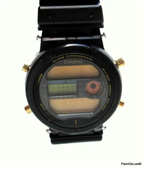 Casio Special Thermo casio special edition thermo data retro vintage s