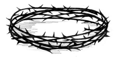 printable crown of thorns crown of thorns saint mary s press
