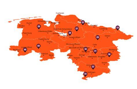 Motorradclub Emden by Plz Karte Niedersachsen Kleve Landkarte
