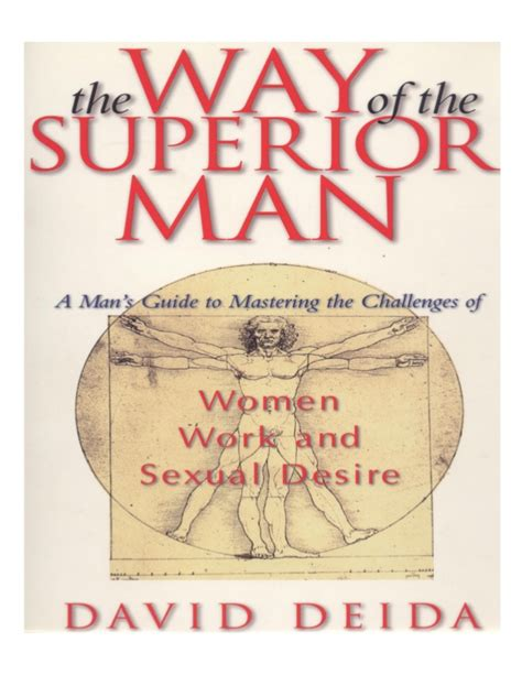 the way of the superior man a spiritual guide to the way of the superior man