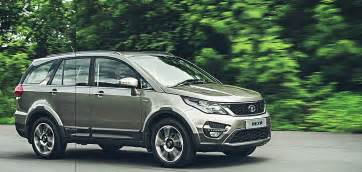 tata hexa images front angle action shot