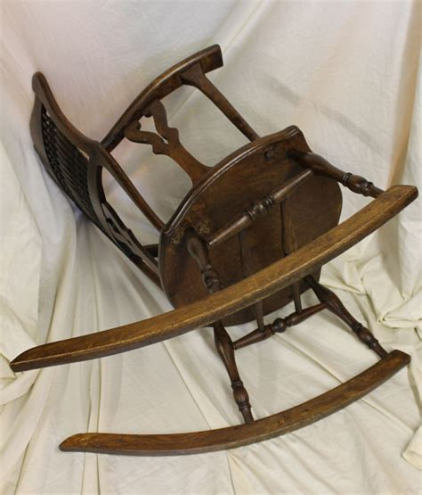 Solid Oak Rocking Chair by Bargain S Antiques 187 Archive Antique Solid