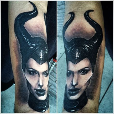angelina jolie maleficent tattoo maleficent angelina jolie tattoo realistic