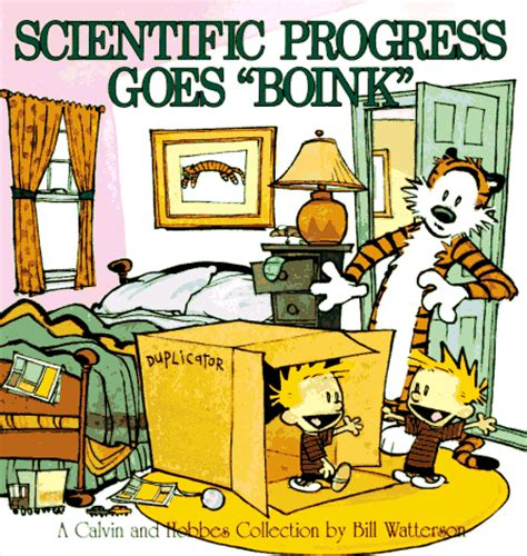 scientific progress goes quot boink quot the calvin and hobbes wiki