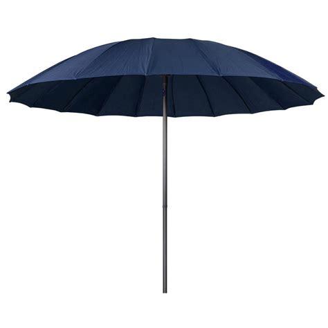 Sun Garden Umbrella by 2 5m Navy Tilting Garden Parasol Sun Shade Canopy Umbrella