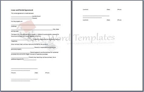 agreement template category page 3 efoza com