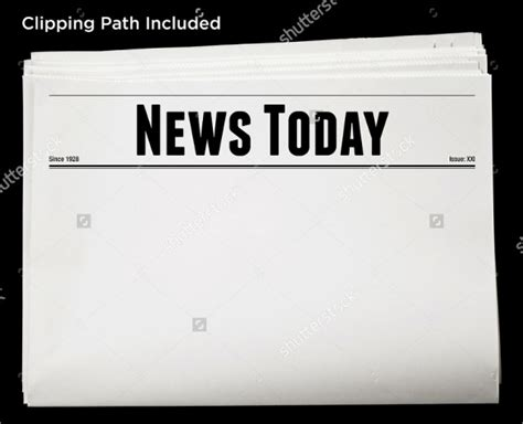 blank newspaper template for word blank newspaper template 20 free word pdf indesign