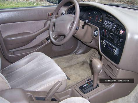 1996 Toyota Camry Interior by 1996 Toyota Camry Dx Sedan 4 Door 2 2l