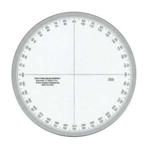 Printable 4 Inch Protractor | alvin 360 degree circular protractor 4 inch