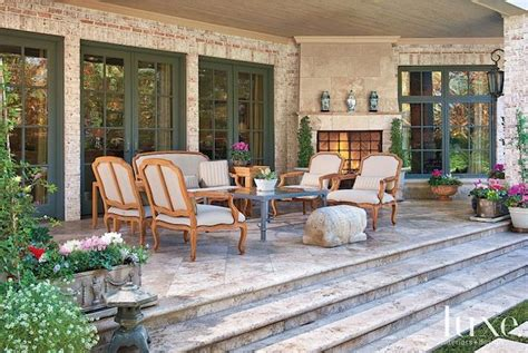 on the back porch with my french country home cedar hill french country porch patio outdoor living pinterest