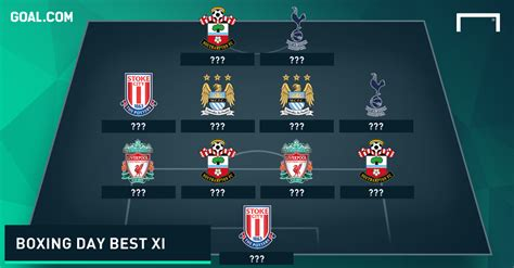 epl boxing day schedule premier league team of the week boxing day goal com