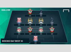 Premier League Team of the Week: Boxing Day - Goal.com Goal.com Football Results
