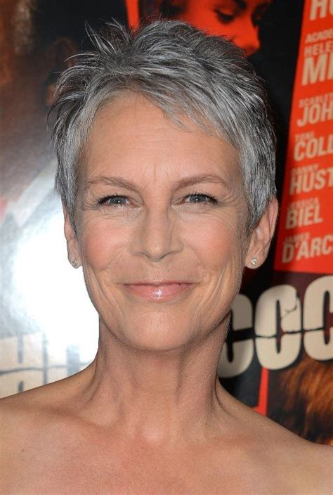 current hairstyles women 50 thinning hair 14 best images about short grey hair on pinterest short