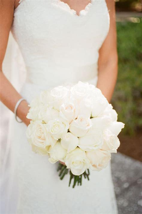 wedding bouquet white roses white bridal bouquet