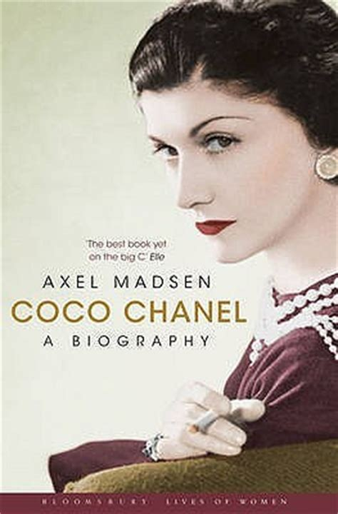 biography coco chanel wikipedia coco chanel a biography by axel madsen reviews