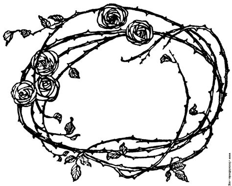 border rose tattoo picture border of roses and thorns soulfull