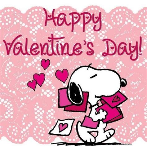 valentines brown happy valentines day snoopy quote pictures photos and