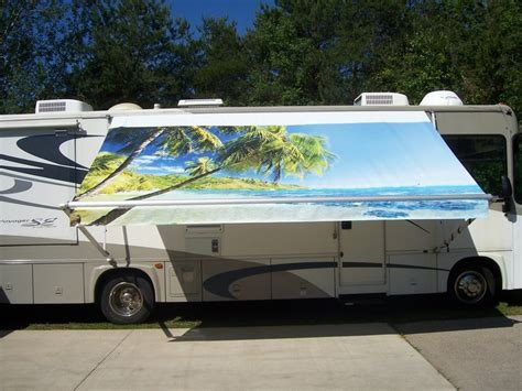 Rv Shade Awnings by 1000 Images About Custom Rv Awnings On Oregon