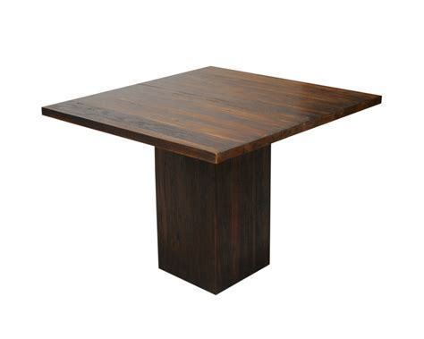 square pedestal kitchen table wood square table contemporary teak dining tables